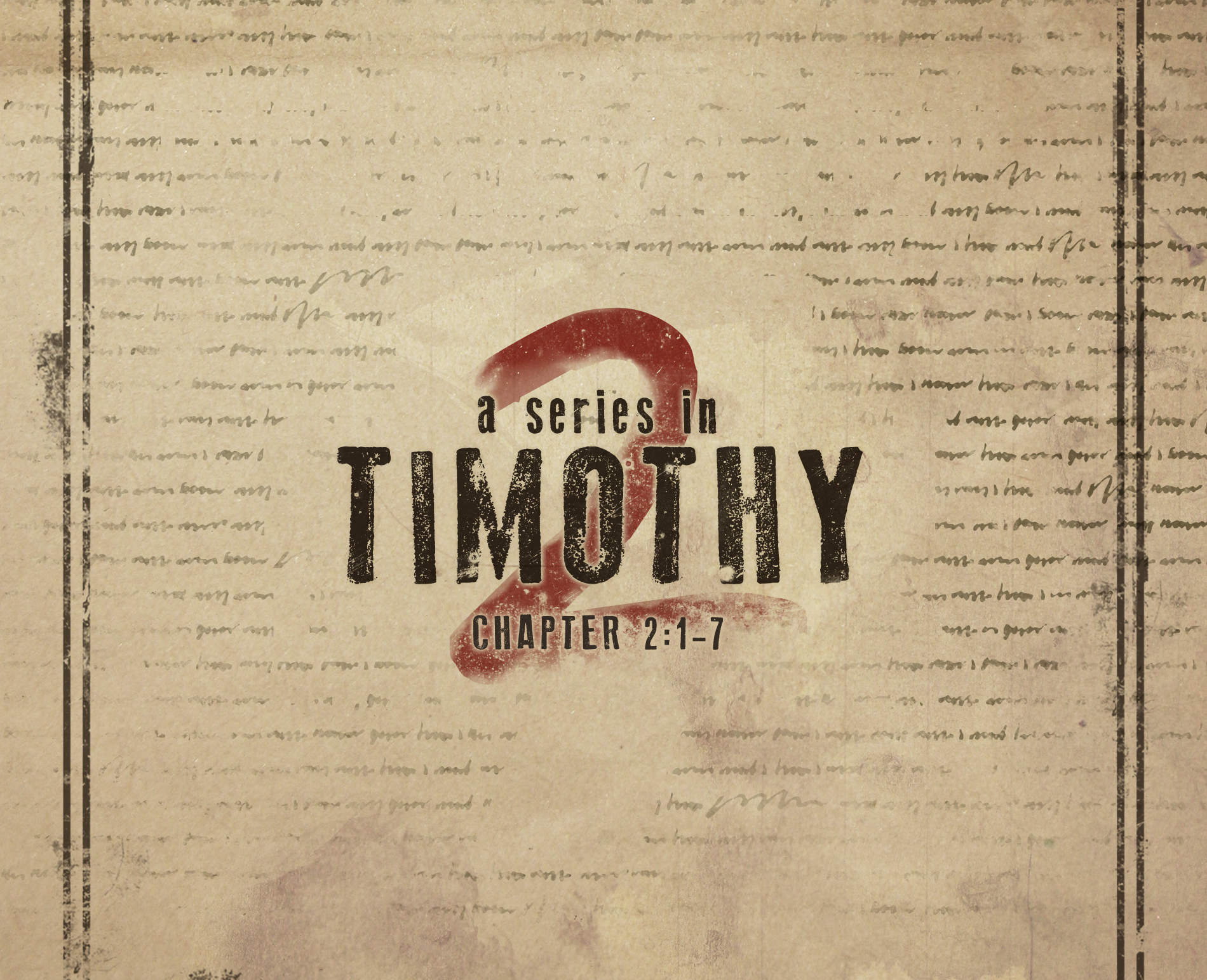 Series in 2 Timothy: Illustrations of Spiritual Strength